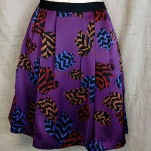 Marc Jacobs Marie Tulip Skirt Purple size 6 NWT